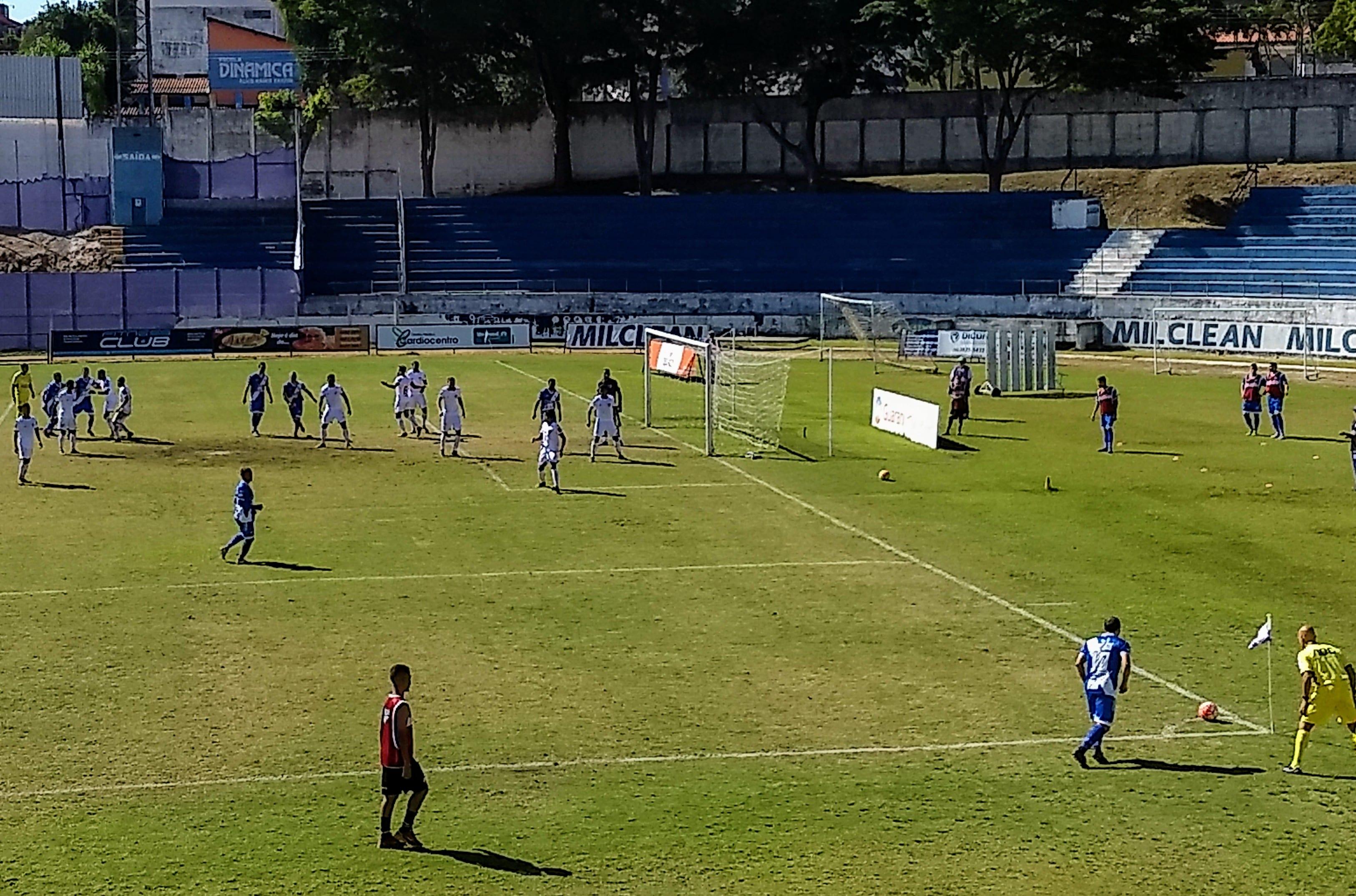 Taubaté estreia na Copa Paulista com derrota para o Nacional por 1 x 0