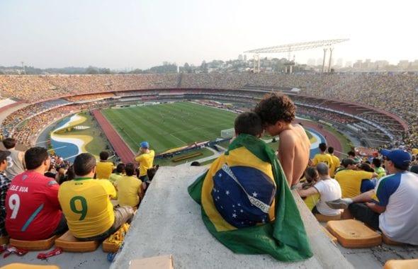 Estádio do Morumbi, em São Paulo