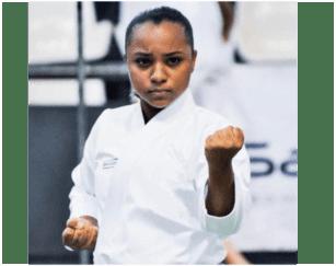 Larissa Ferreira atleta de Kata