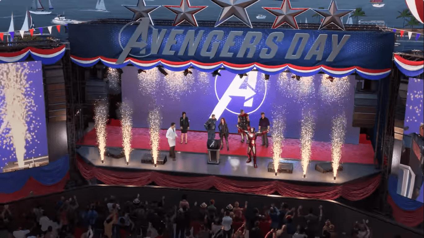 Marvel's Avenger foi divulgado durante a E3.