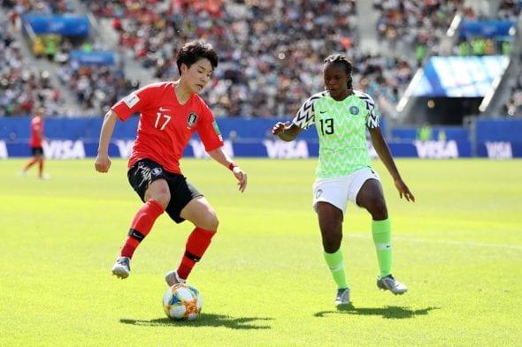 Nigéria x Coreia do Sul
