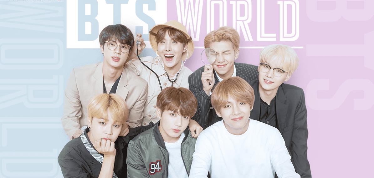 BTS World - jogo da maior manda de K-Pop do mundo- ganha data de lançamento