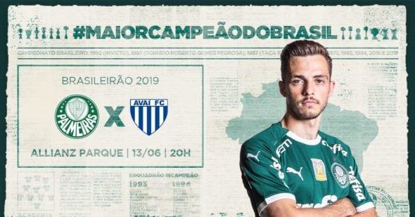 Palmeiras x Avaí guia de tv