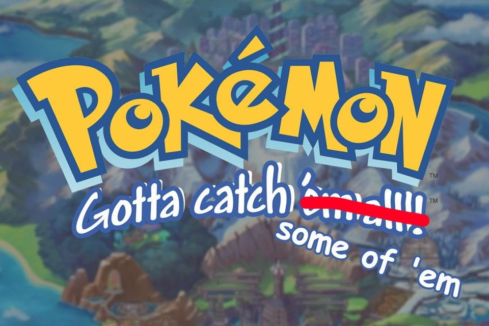 Game Freak revela más notícias sobre Pokédex de Pokémon Sword & Shield.
