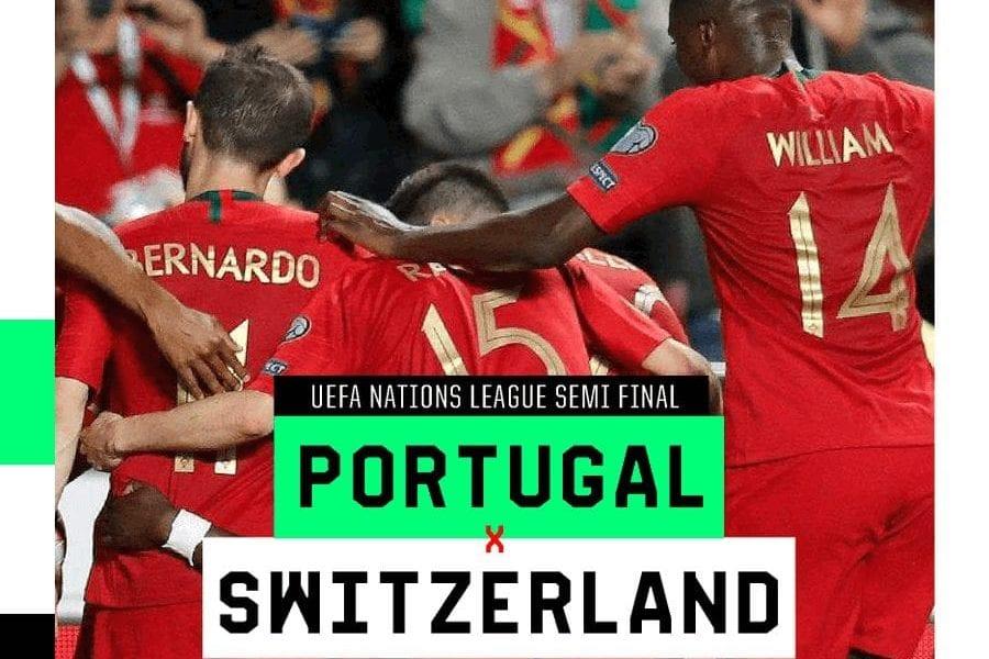 Portugal escalação Suíça Nations League