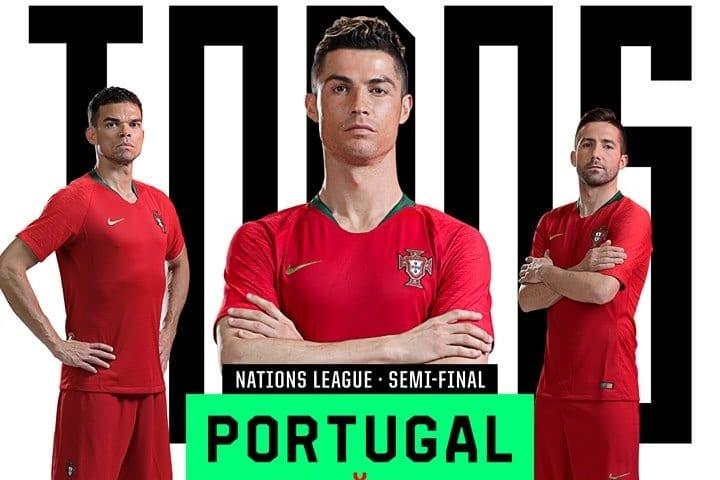 Provável escalação Portugal x Suíça Nations League