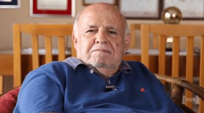 Pepe, ex-atacante do Santos e da seleção brasileira, em seu canal de vídeos na internet