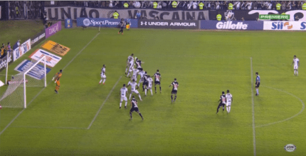 Vasco x Ceará: gol do jogo