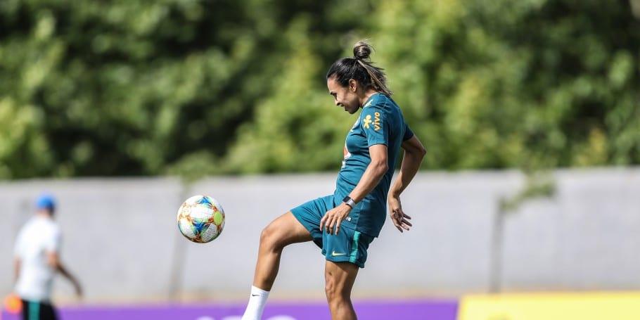 Técnico Jamaica ausência Marta Brasil estreia Copa do Mundo de Futebol Feminino