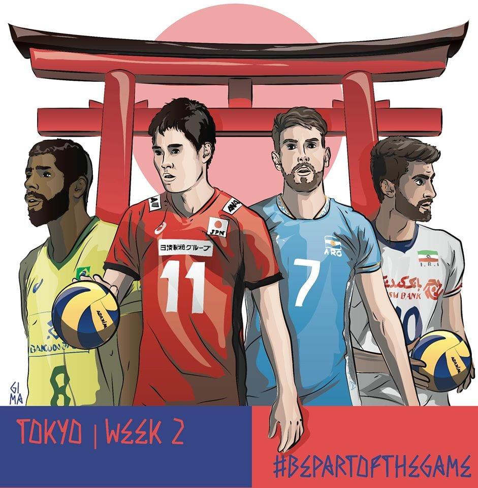 Japão x Brasil