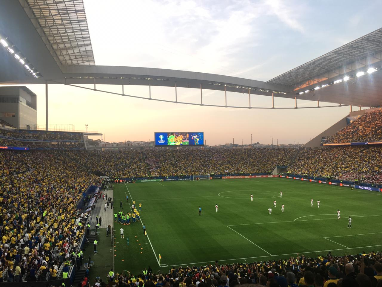 Arena Corinthians - Copa América - Libertadores