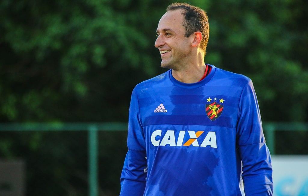 Magrão, goleiro e ídolo do Sport, que move ação na Justiça do Trabalho contra o clube