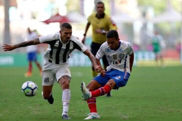 Bahia x Santos em Salvador pelo Brasileirão 2018