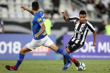 Cruzeiro x Botafogo em 2018