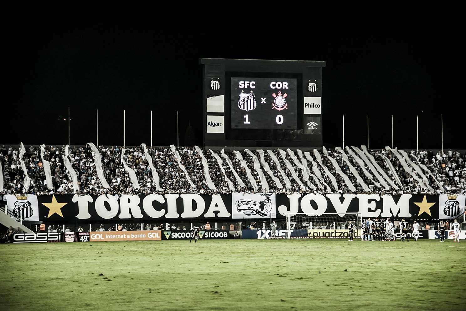 Santos x Flamengo: número de ingressos vendidos