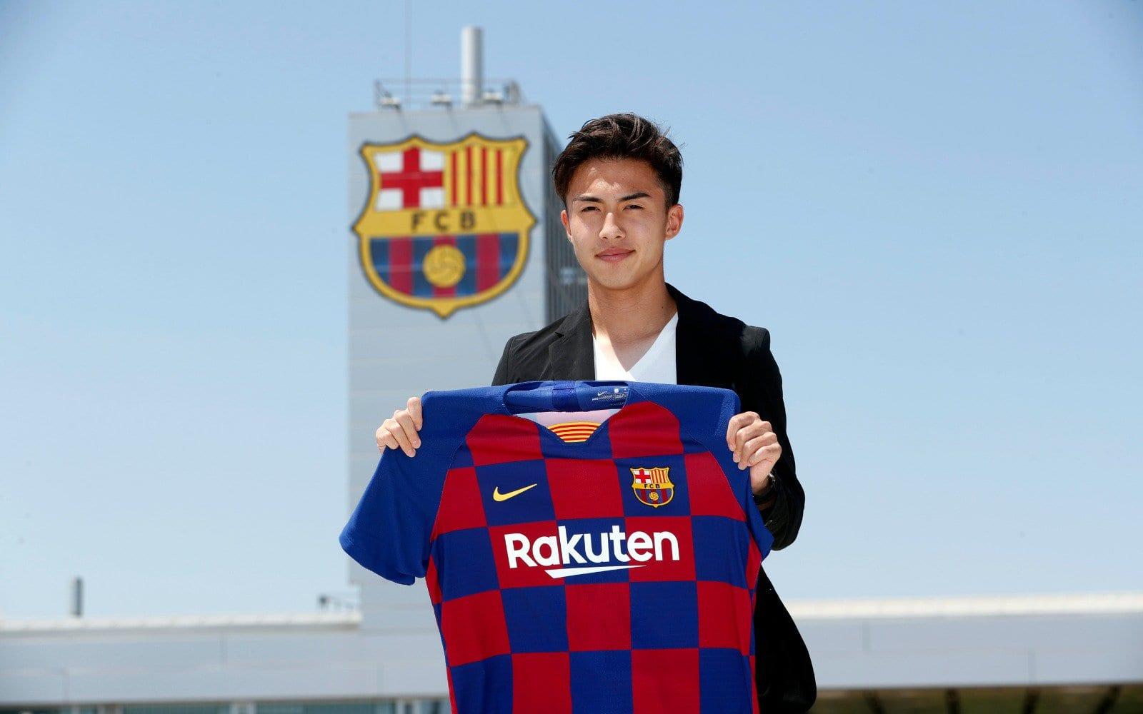 Barcelona anuncia contratação japonês time B
