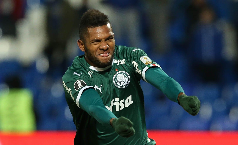 Borja, atacante do Palmeiras mercado da bola