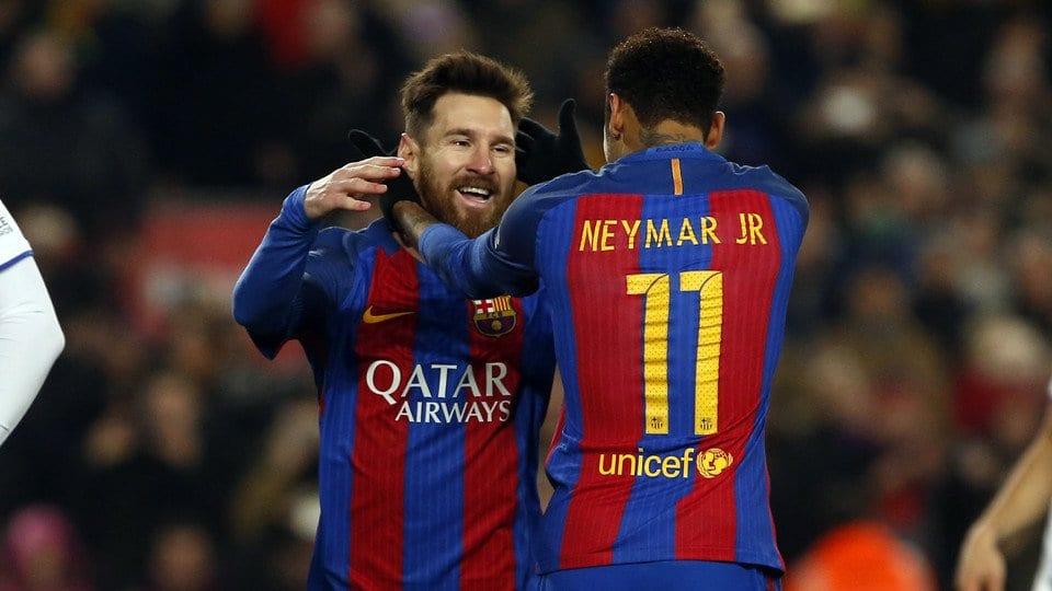 Messi chegou a pensar que o Real fosse contratar Neymar.