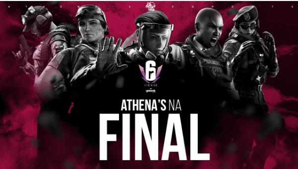 Athena's e-Sports conquistou a vaga para o presencial e jogará a Final da tabela dos vencedores nesta quinta-feira (11)