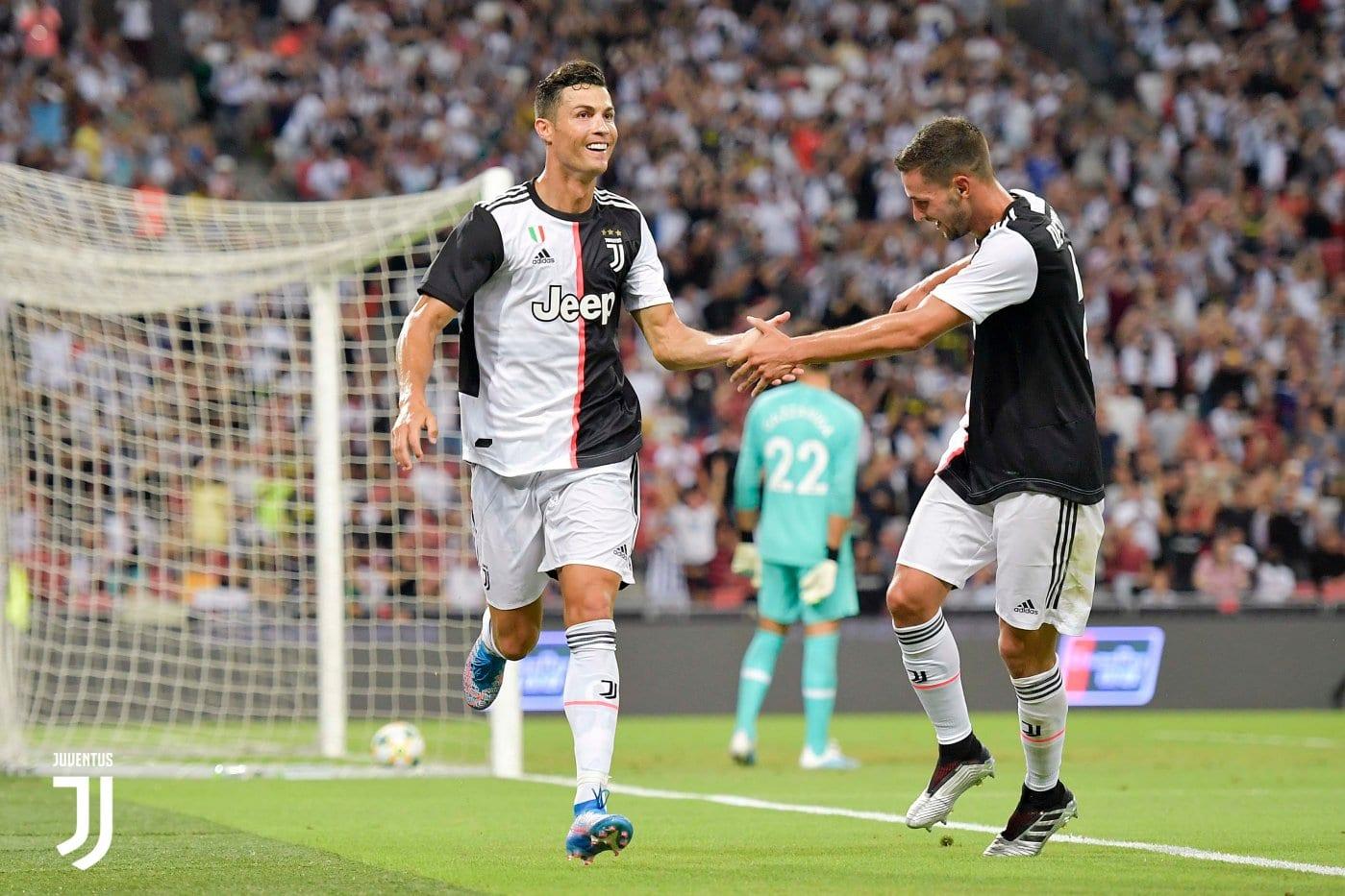 Cristiano Ronaldo segue como o dono do salário mais alto do Campeonato Italiano.