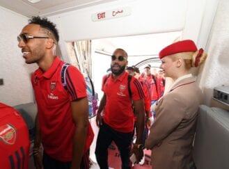 Delegação do Arsenal embarca para os Estados Unidos para pré-temporada de 2019/2020.