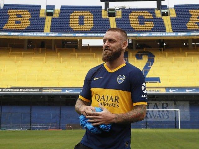 De Rossi no Boca Juniors