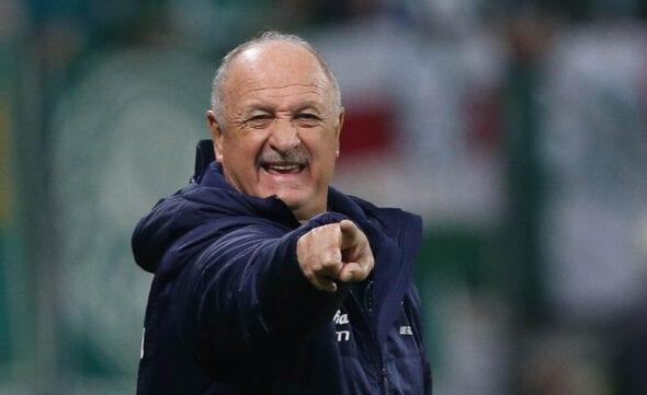 Felipão, ex-treinador do Palmeiras