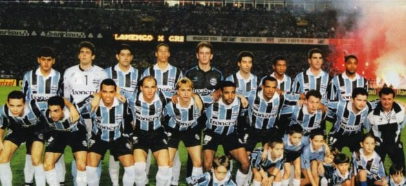 Grêmio ficou com a Copa do Brasil de 1997, após empatar com o Flamengo no Maracanã
