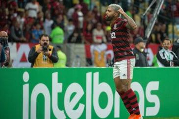 Após a eliminação do Flamengo, alguns jogadores do Athletico resolveram provocar Gabigol.