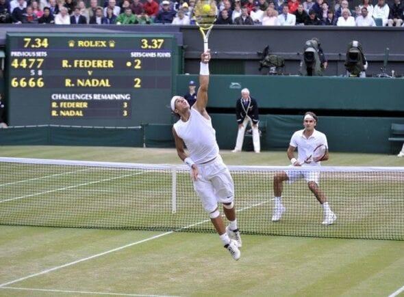 Nadal x Federer