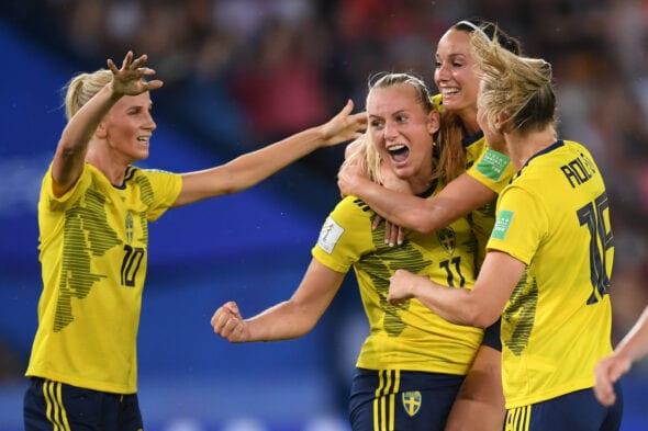 Suécia x Canadá, Copa do Mundo Feminina de 2019.