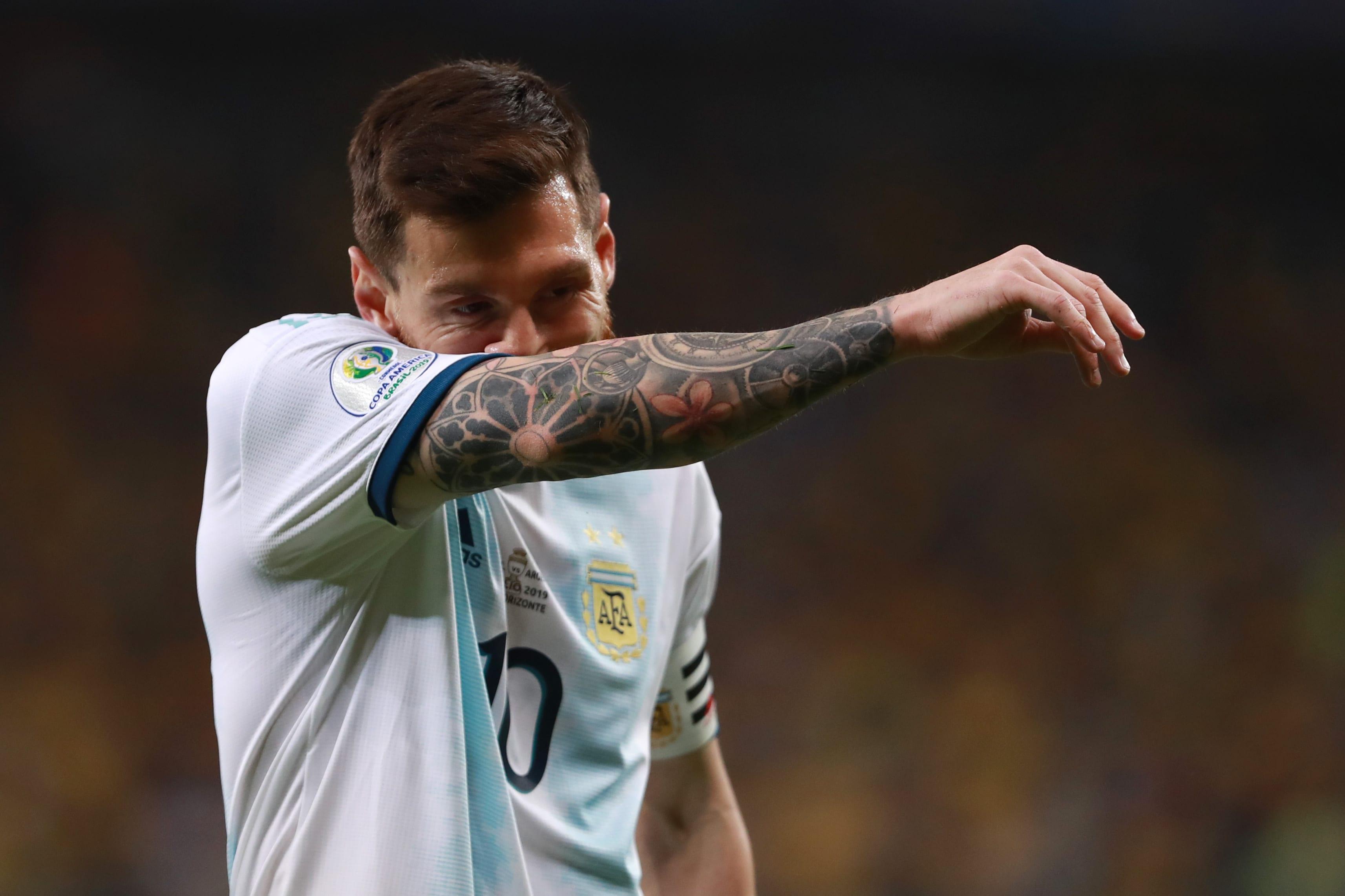 Messi pode atingir marca pela Argentina