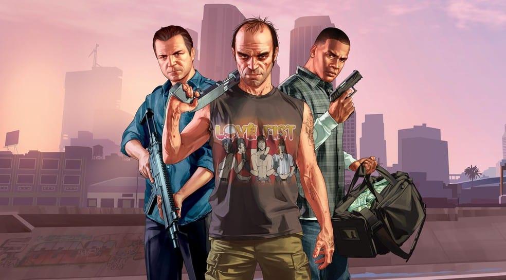 GTA V é o terceiro jogo mais vendido da história