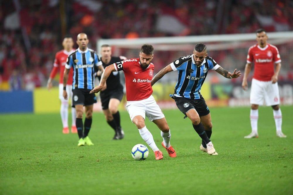 Inter próximo jogo empate Grêmio