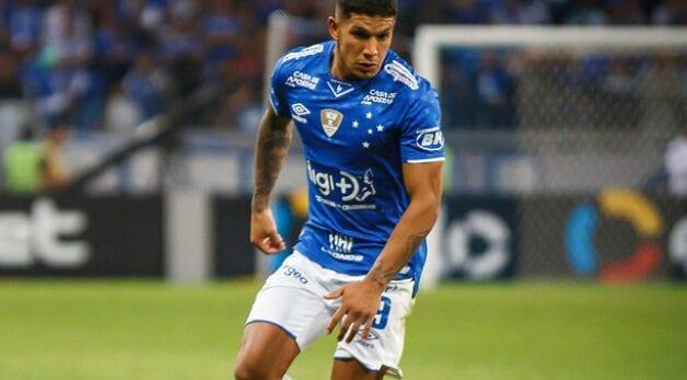 Lucas Romero no Cruzeiro