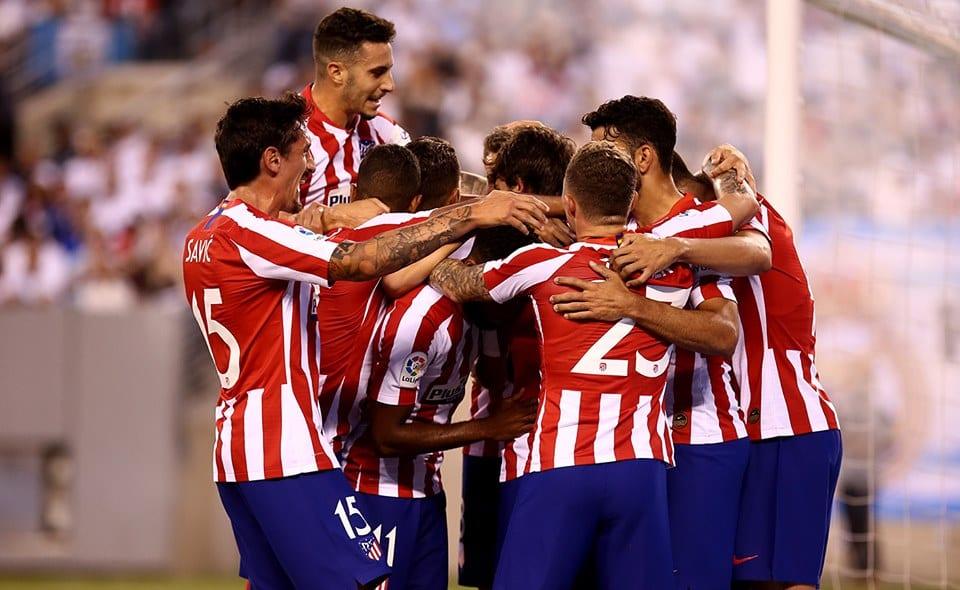Quatro gols Diego Costa Atlético de Madrid bate Real Madrid 7 a 3