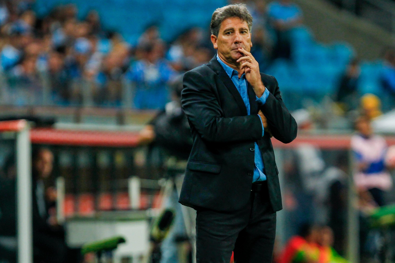 Renato Gaúcho, treinador do Grêmio