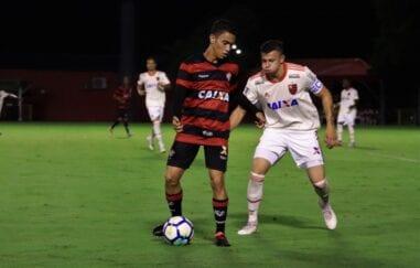 Vitória x Flamengo no Brasileirão Sub-20 de 2018