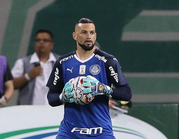 Weverton no Palmeiras