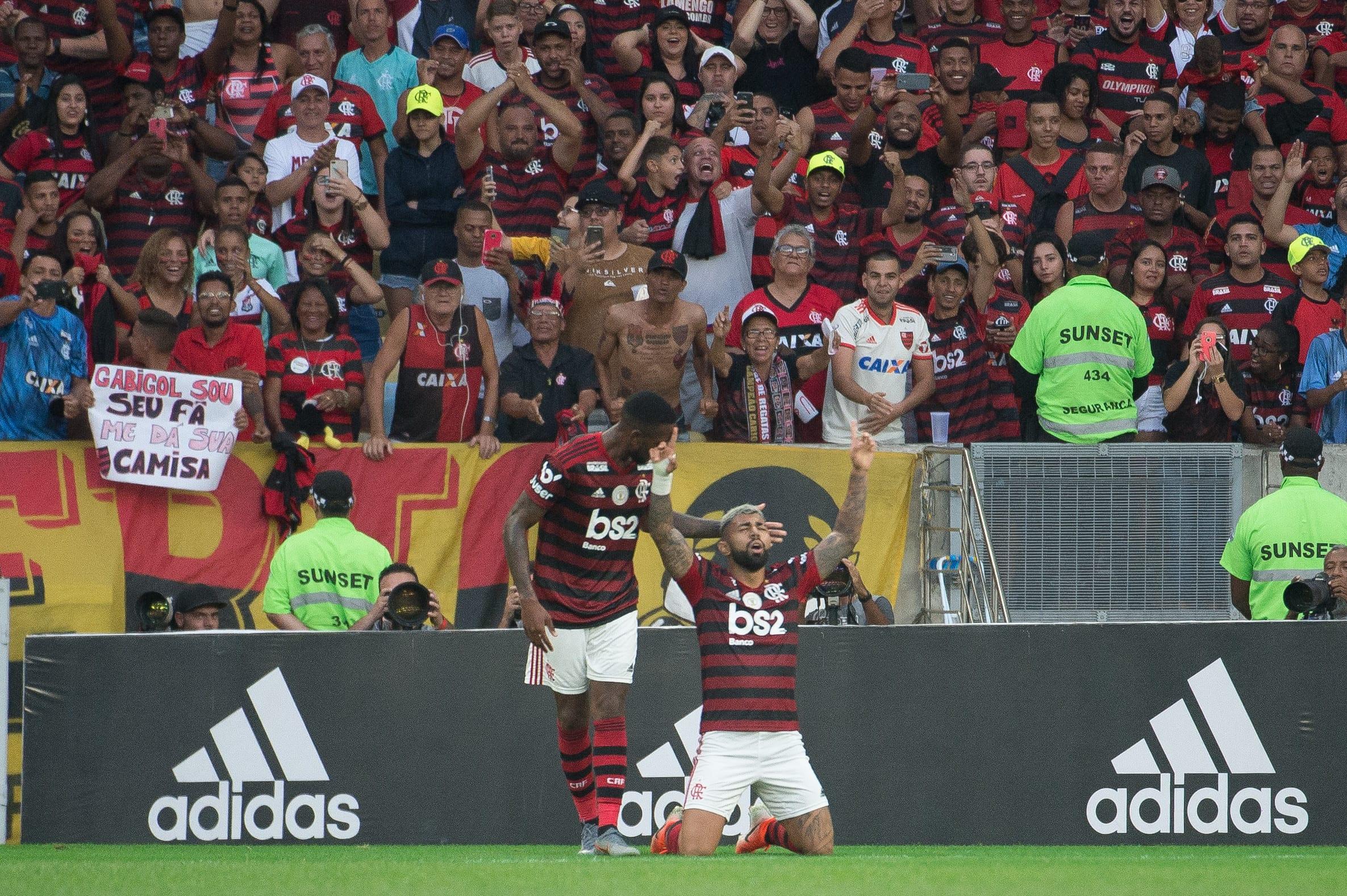 Gabriel e Gérson no Flamengo
