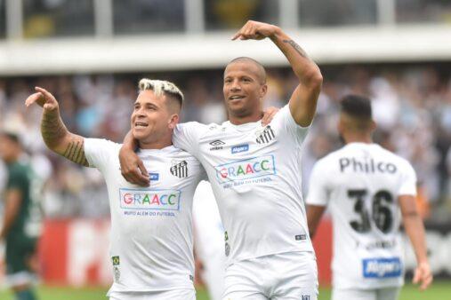 Tempo de contrato dos jogadores do Santos