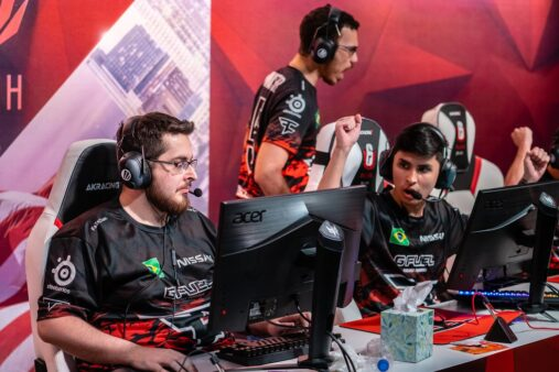 FaZe Clan e Team Empire se enfrentaram pelas quartas de final do Major de Rainbow Six