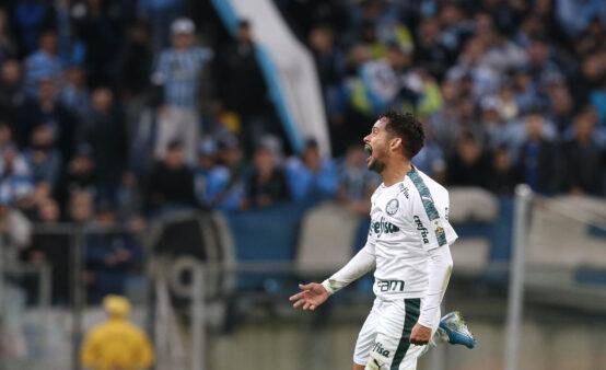 Scarpa no Palmeiras