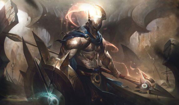 Após rework de Pantheon, Riot Games vai adicionar o campeão ao modo TFT