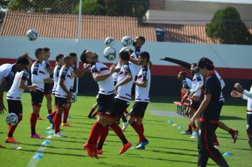 Atlético-GO x São Bento provável escalação Dragão Série B
