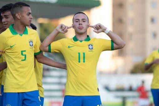 Se preparando para o Mundial sub-17, Brasil bateu o Chile.