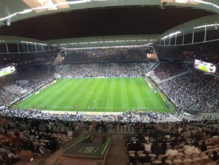 Arena receberá Corinthians x Athletico