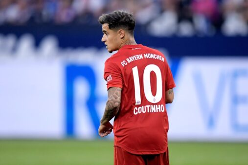 Coutinho titular provável escalação Bayern contra o Mainz