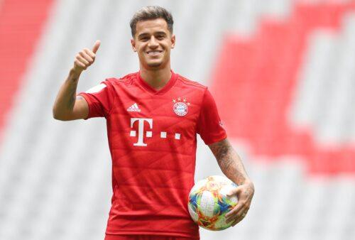 Coutinho no Bayern