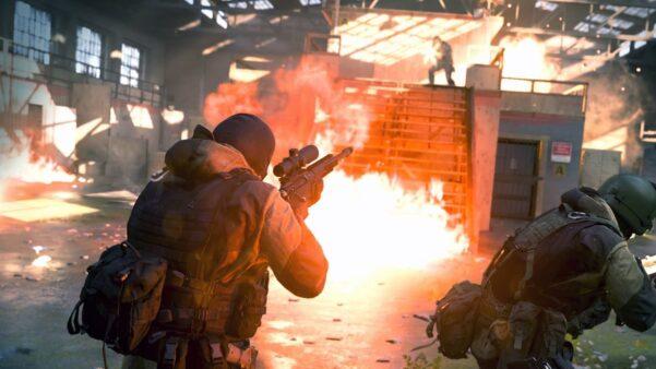 Além das armas, o CoD: Modern Warfare recebeu dois novos mapas (Shoot House eKrovnik Farmland )